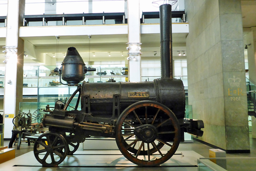 Stephenson's 'Rocket' Locomotive thingy.