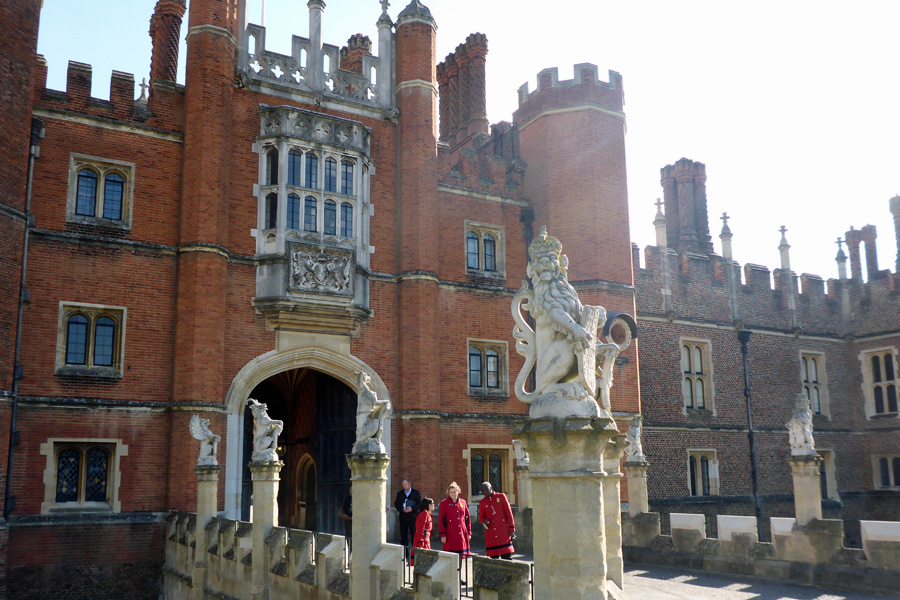 Hampton Court Palace, one of Henry VIII's favourite pads.