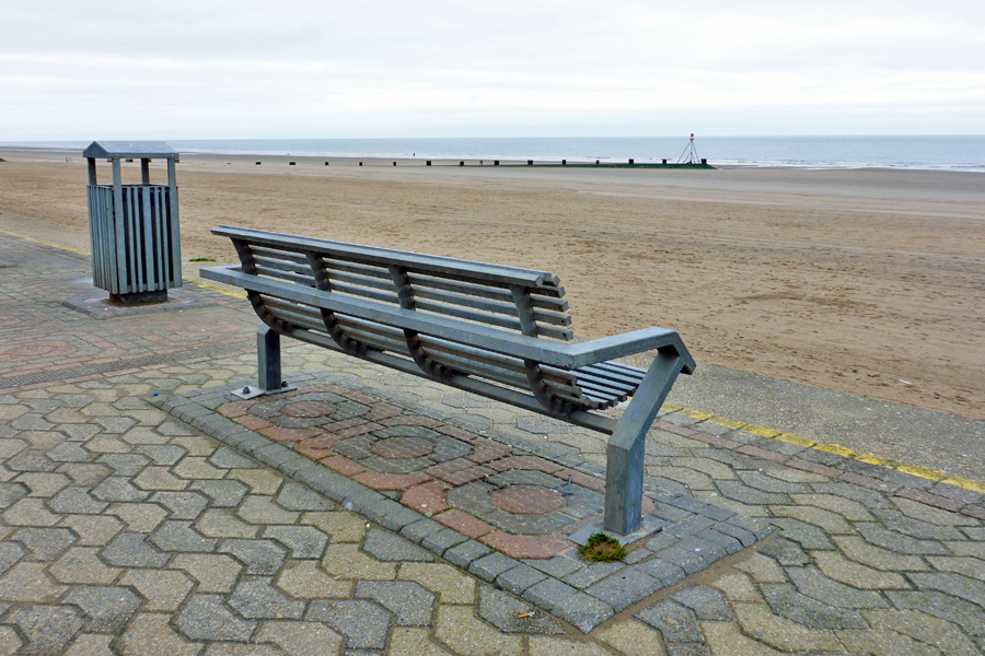 What to do? Why, choose bench, of course, and gaze out towards